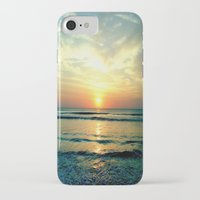 sunrise iPhone & iPod Cases featuring Sunrise by THEORY