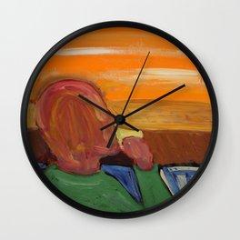 Morning Joe Wall Clock