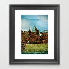 Dock of the Bay Framed Art Print