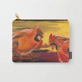 Seek and Ye Shall Find (Cardinals) Carry-All Pouch