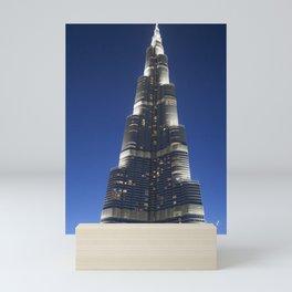 Burj Khalifa Mini Art Print