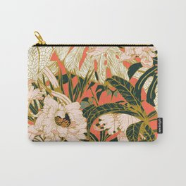 Flowering tropical coral bloom Carry-All Pouch