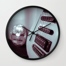 Enid Music Hall Guitar Wall Clock