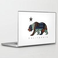 california Laptop & iPad Skins featuring California by TAM ♡