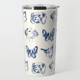 Dogs pattern Travel Mug