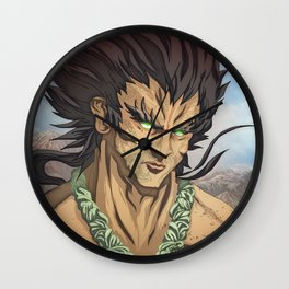 Maui the Demi God Wall Clock