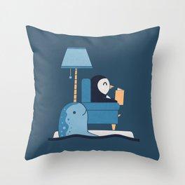 Reading Buddies Throw Pillow
