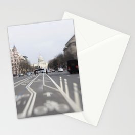 In the Streets of DC Stationery Cards