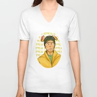 jesse pinkman V-neck T-shirts featuring jesse pinkman  by zacksellsstuff