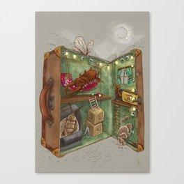 One man's trash - Home Sweet Home Canvas Print