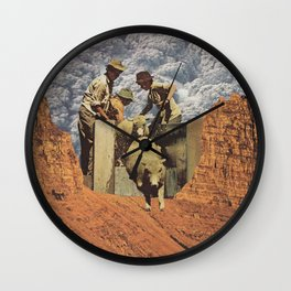 Dirty Sheep Wall Clock