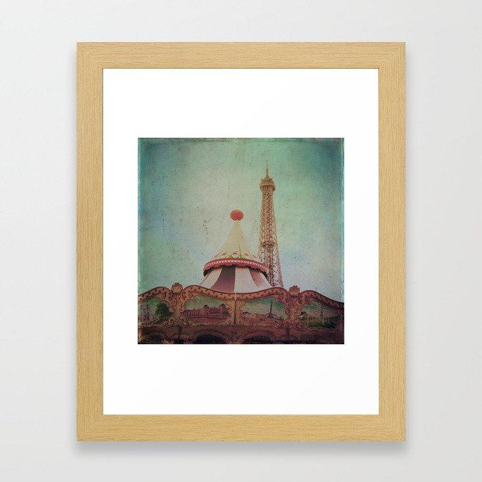 Bohemia of Paris Framed Art Print