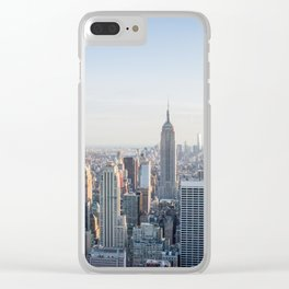 Towers - City Urban Landscape Photography Clear iPhone Case