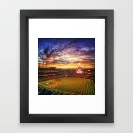 Coors Field Framed Art Print