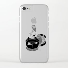 Nobody Knows The Real Me Clear iPhone Case