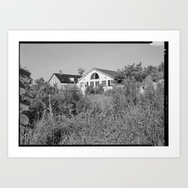 Jacob Tome Institute, Monroe Hall, Tome Road, Port Deposit, Cecil County, MD Art Print