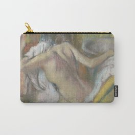 After the Bath, Woman drying herself Carry-All Pouch