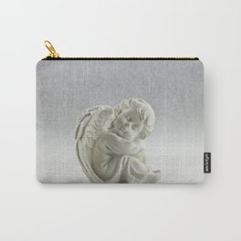 Angelic Cherub Snowfall Photography Carry-All Pouch