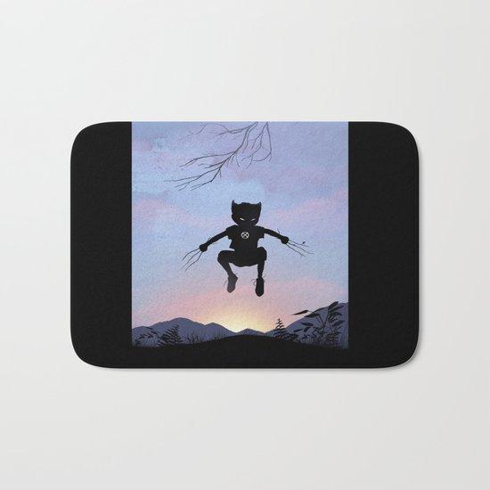 Wolverine Kid Bath Mat