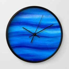Marine abstract Wall Clock