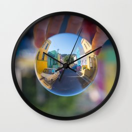 Bo Kaap Wall Clock