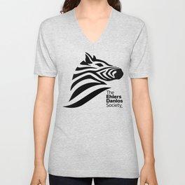 Ehlers-Danlos Society - Big Logo Unisex V-Neck