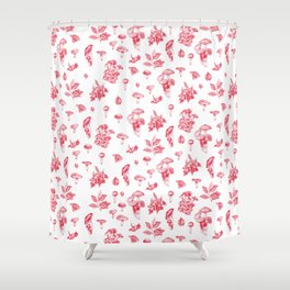 Wild things 1# Shower Curtain