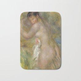 """Auguste Renoir """"La baigneuse"""" Bath Mat"""