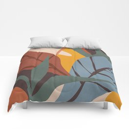 Abstract Art Jungle Comforters