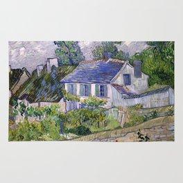Vincent Van Gogh Houses At Auvers Rug