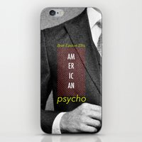 american psycho iPhone & iPod Skins featuring american psycho  by Andy Torres