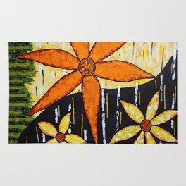 Flower Time Rug