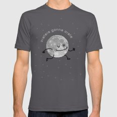 Craters Gonna Crate (8bit) SMALL Asphalt Mens Fitted Tee