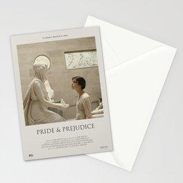 Pride and Prejudice (2005) Minimalist Poster Stationery Cards