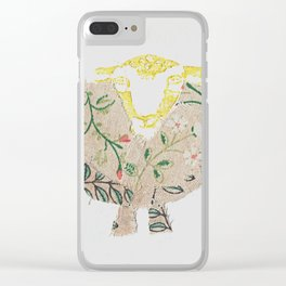 Da Leefy Sheep Clear iPhone Case