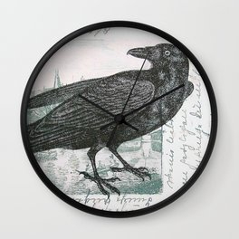 Raven of Marburg - Square Wall Clock