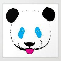 Panda!! Art Print
