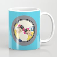 breaking Mugs featuring Breaking by Stubarb