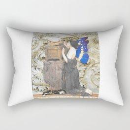 A Tooth Fairy Prepares Rectangular Pillow