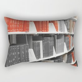 Only Red Books Rectangular Pillow