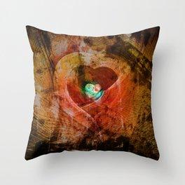 Treasure Your Heart Throw Pillow