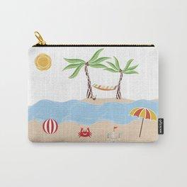 Summer Beach Fun Carry-All Pouch