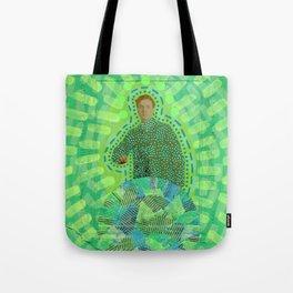 Lime Man Tote Bag