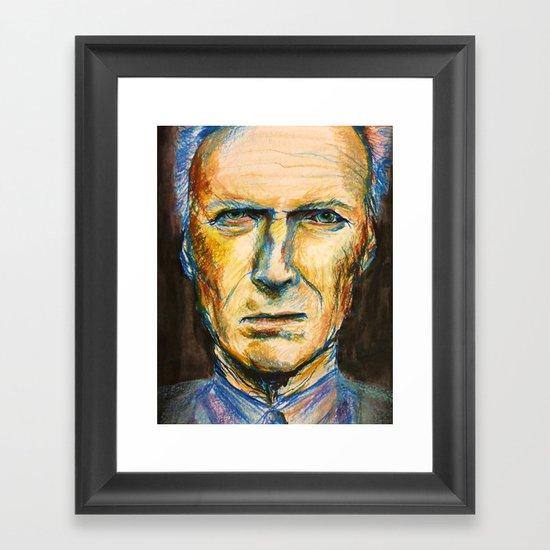 Pastel Eastwood Framed Art Print