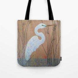 Unicorn Egret Tote Bag