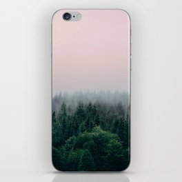 Forest in Pink iPhone Skin