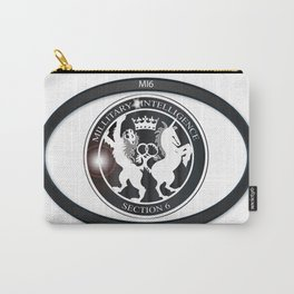 MI6 Oval Badge (Millitary Intelligence Section 6) Carry-All Pouch