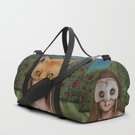 Lacie the Fox Duffle Bag