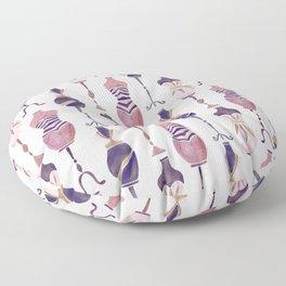 Vintage Dress Forms – Mauve Palette Floor Pillow