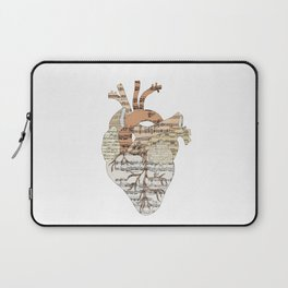 Sound Of My Heart (on white) Laptop Sleeve